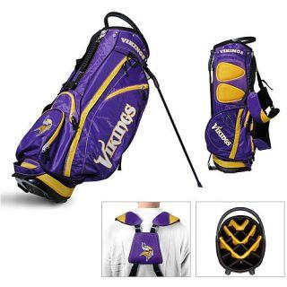 Licensed NFL Minnesota Vikings Team Golf Stand Bag