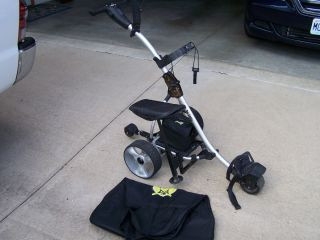 Used X3R Bat Caddy Remote Control Electric Golf Cart