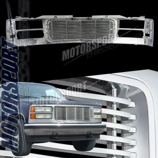 94 99 GMC Suburban Pickup Billet Style Chrome Wave Grille Grill C K
