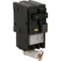20 Amp Home Line Homeline Double Pole GFI Circuit Breaker New
