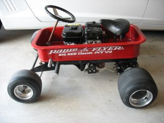 Custom Radio Flyer Hot Rod Go Kart