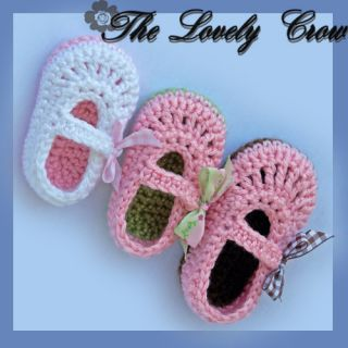 Crochet Pattern Booties Baby Ribbon Maryjanes This Is A Pattern Only
