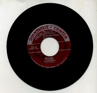 PRINCE BUSTER Soulsville Center Label RYGING & Ten Commandments 45