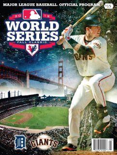 ANDTHE 2012 WORLD SERIES SAN FRANCISCO GIANTS TEAM SPECIFIC PROGRAM
