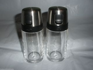 OXO Good Grips Salt Pepper Shaker Set with Pour Spout