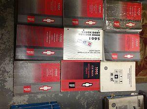 1995 CHEVY GMC CK TRUCK SUBURBAN SILVERADO TAHOE Service Repair Manual