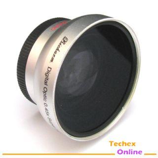 43mm 0 45X Wide Angle Lens for Canon HV20 HG10 HV30