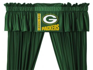 Green Bay Packers 88 x 14 Window Valance Locker Room Collection NFL