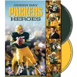NFL Green Bay Packers Heroes 2 DVDs Box Collectors Set