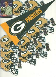 11 NFL Green Bay Packers and 1 Pennant and 100 Logos