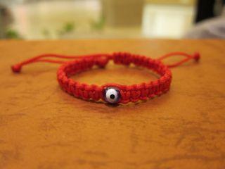 Baby Red String Bracelet Blue Evil Eye Good Luck Charm