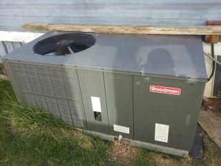 Goodman Central Air AC Heat Unit