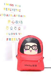 Girl Cartoon Bags Schoolbag Backpack Shoulders Bag Gift BG54