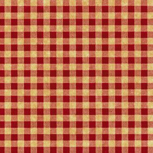 Tissue Paper Gift Wrap Red Checkerboard Design