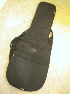 Fender Electric Guitar Black Padded Nylon Soft Gig Bag