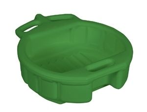 GREEN COOLANT DRAIN PAN   Lisle 17952 MADE IN USA 4.5 Gallon Oil and