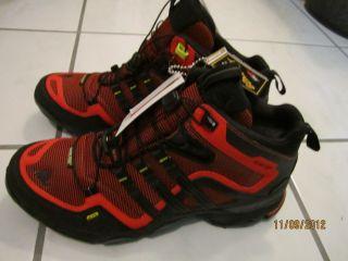 Adidas Terrex Fast x FM Mid Gore Tex Man Red Boots Brand New