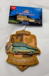 2012 National Lampoons Griswold Family Christmas Vacation Ornament New
