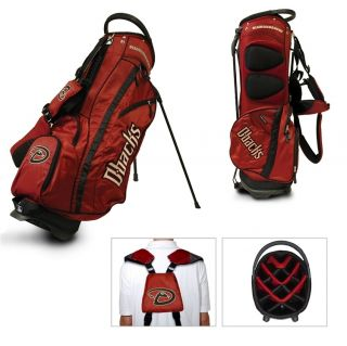 Authentic MLB Team Golf Arizona Diamondbacks Stand Golf Bag New in The