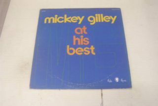Mickey Gilley at His Best LP Rockabilly Jerry Lee Lewis