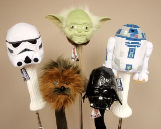 Star Wars Golf Headcovers Set of 5 New