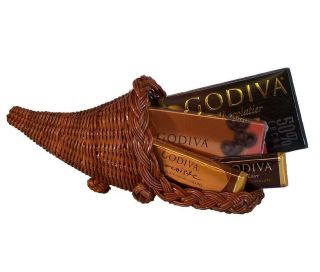 Chocolate Cornucopia Gourmet Holiday Christmas Gift Basket