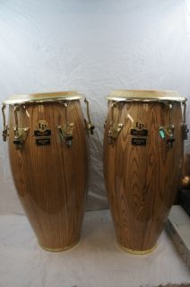 Up for auction here is a Pair Of LP Galaxy Congas Giovanni Series. In