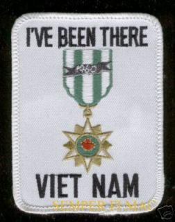 VE BEEN THERE VIETNAM VETERAN PATCH USMC USAF USN