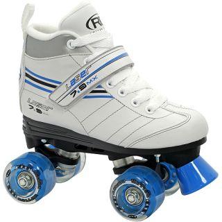 Roller Derby Laser 7 9MX Girls Quad Speed Skates