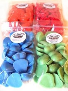 Candle Melts 60 pc Hearts Tart Melts Valentines Day Fall Winter Food
