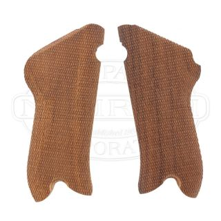Luger P 08 Replacement Checkered Walnut Grips