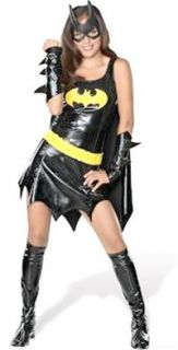 Costumes Teen Lic Batgirl Super Hero Costume Set