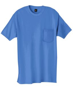 Hanes Tshirt Tee Mens Short Sleeve 6 1 oz Beefy T with Pocket Basic