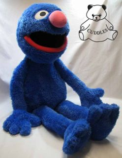 Grover Sesame St Street Gund Blue Monster Big Plush Toy Stuffed Animal