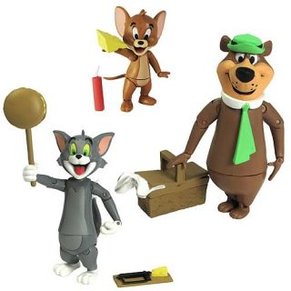 Hanna Barbera Tom Jerry and Yogi Bear Figure in Stock Tom with Mouse