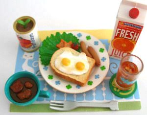 Dollhouse Miniature Italian Restaurant Health Breakfast
