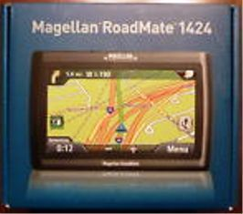 RoadMate 1424 GPS with preloaded USA Canada maps Brand New sealed Box
