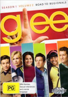 Glee Season 1 Volume 2 Road to Regionals DVD Region 4