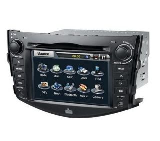 HD 2 Din GPS Car DVD Player Radio Ipod For TOYOTA RAV4 2009 2012 Model