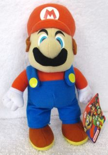 Nintendo Mario from Super Mario Brothers Plush Doll
