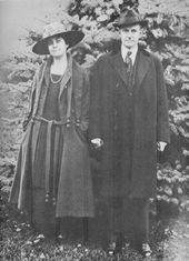 Calvin and Grace Coolidge, about 1918.