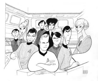 nichelle nichols george takei walter koenig majel barrett and grace