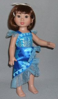 Island Gracie 10 Doll with Bent Knees Blue Caribbean Cruise Outfit