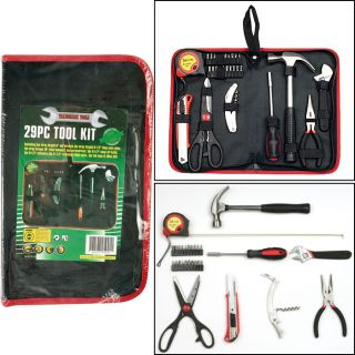 since 1999 trademark tools handy man tool kit 29 pc