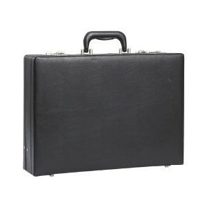 Attache Laptop Briefcase Hard Sided Case w Combination Locks