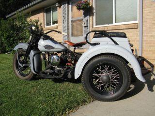 1941 Harley Davidson Servi Car