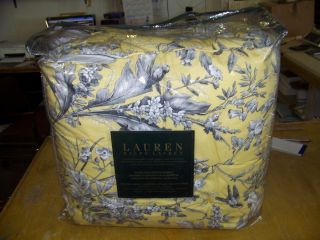 Ralph Lauren Grand Isle Yellow Queen Comforter Set