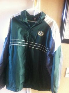 Green Bay Packers Windbreaker Jacket