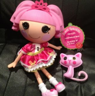 Lalaloopsy Full Size Hard Body Retired Jewel Sparkles and Cat