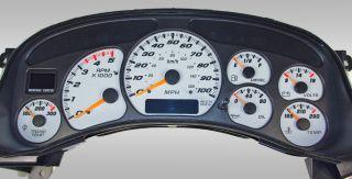 Diesel Duramax Gauge Face Chevy GMC 99 00 01 02 2500